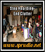 Stop Hoarding- End Clutter